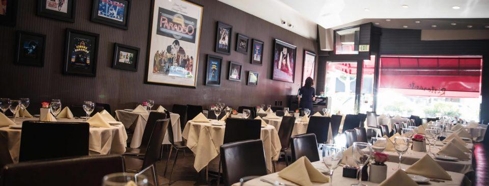 Piccolo Paradiso - Restaurant Dining Setting Banner